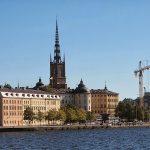 Стокгольм: ратуша, амфоры и метро с текущей по стенам водой