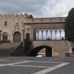 Церковь Сан Лоренцо и папский дворец в Витербо