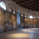 Необычные росписи в церкви Santo Stefano Rotondo в Риме