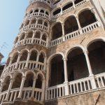 Самая знаменитая винтовая лестница Венеции
