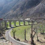 Панорамный поезд Бернина экспресс