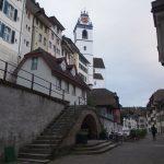 Небольшой швейцарский городок Арау