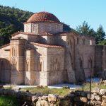 Афины. Монастырь Дафни