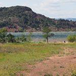 Французские пейзажи, озеро Салагу, город Пезнас