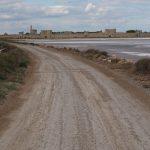 Эг Морт. Средневековая крепость и соляные холмы