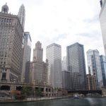 Чикаго. Прогулка на кораблике по реке