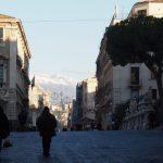 Сицилия. Катания зимой